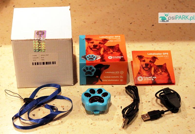 Zestaw CALMEAN Pet Tracker lokalizator GPS dla zwierząt